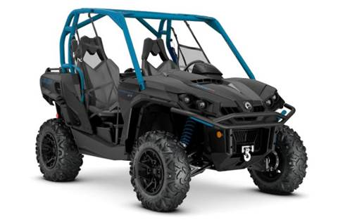 2020 Commander XT 1000R Black & Octane Blue