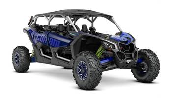 2020 Maverick™ X3 MAX X rs Turbo RR Silver/Blue/Green