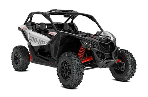 2020 Maverick™ X3 Turbo Hyper Silver & Can-Am Red