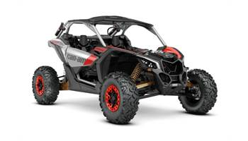 2020 Maverick™ X3 X™ rs Turbo RR Gold, Red & Silver