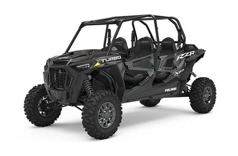 2020 RZR XP® 4 Turbo Stealth Black