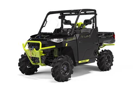 2020 RANGER XP® 1000 High Lifter Edition Onyx Black with Lime Squeeze Accents