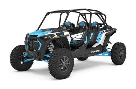 2020 RZR XP® 4 Turbo S Velocity Matte White