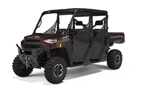 2020 RANGER CREW XP® 1000 Texas Edition Black Cherry Metallic