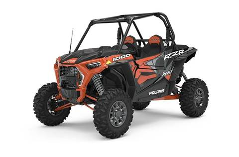 2020 RZR XP® 1000 Premium Orange Rust