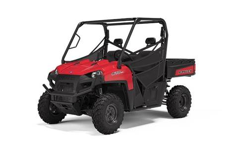 2020 RANGER® 570 Full-Size Solar Red