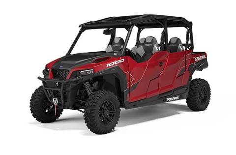 2020 Polaris GENERAL® 4 1000 EPS Deluxe Sunset Red