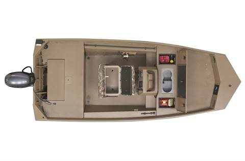 2020 Gator Tough 17 CCJ (Jet Tunnel Hull)