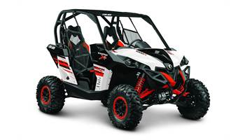 2014 Maverick 1000R X® rs - White, Black & Can-Am Red