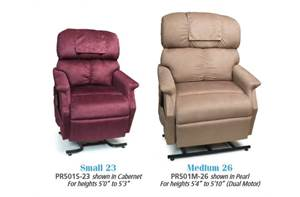 COMFORTER WIDE LIFT CHAIR