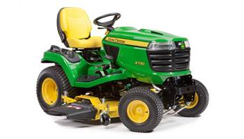 2014 USED X730 w/Drive-Over 60in 'AutoConnect' Mower Deck