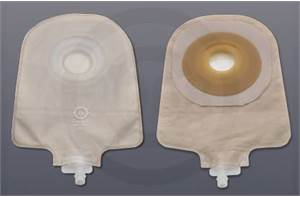 CUT-TO-FIT UROSTOMY POUCHES WITH CONVEX BARRIERS
