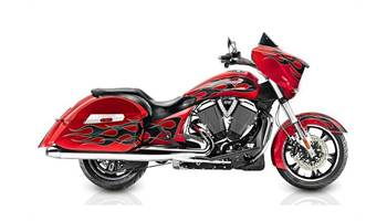 2015 Victory Cross Country™ - Havasu Red with Flames