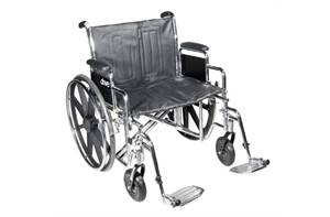 WHEELCHAIR STD DUAL-AXLE 24