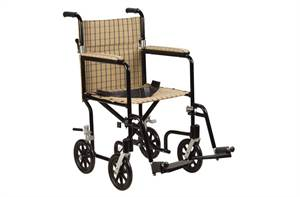 Designer Fly-Weight Aluminum Transport Chair