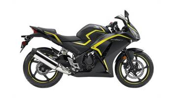 2015 CBR300R - Matte Black Metallic/Yellow