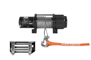 HD 4500lb. Winch with Integrated Mount
