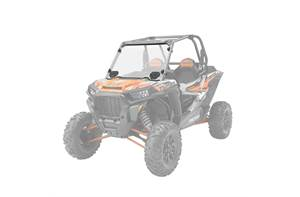 Lock & Ride Hard Coat Poly Vented RZR Windshields