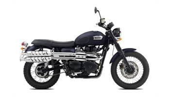 2015 Scrambler - Matt Pacific Blue