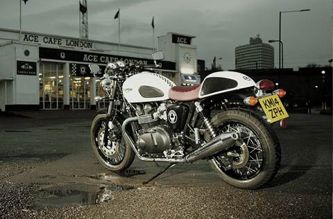2015 Thruxton Ace Special Edition