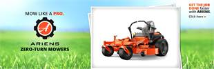 Ariens Zero-Turn Mowers: Click here to view our selection.