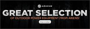 Click here to view our great selection of outdoor power equipment from Ariens!
