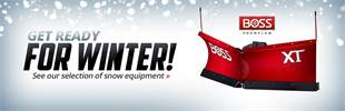 BOSS Snow Plows: Click here to view the models.