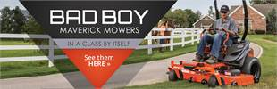 Bad Boy Maverick Mowers: Click here to view the models.