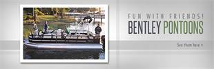 Bentley Pontoons: Click here to view our selection!