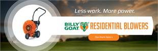 Billy Goat Residential Blowers: Click here to view the models.