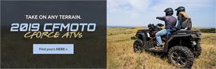 2019 CFMOTO CFORCE ATVs: Click here to view the models.