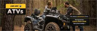 View the new Can-Am ATVs.