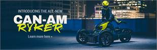 Introducing the All-New Can-Am Ryker: Click here to learn more.