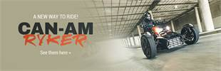 Can-Am Ryker: Click here to learn more.
