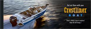 Crestliner Boats: Click here to view the full lineup.
