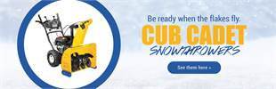 Cub Cadet Snowthrowers: Click here to view the models.