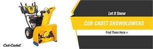 Cub Cadet Snowblowers: Let it snow, click here now!