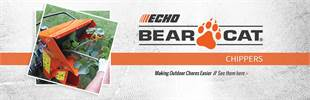 ECHO Bear Cat Chippers: Click here to view the models.