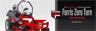 Click here to view Ferris zero-turn mowers.