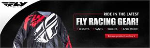 Click here to browse Fly Racing gear!