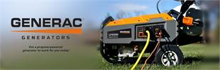 Generac Propane-Powered Portable Generators: Click here to view the models.