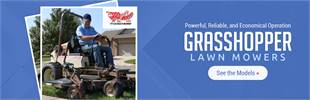 Grasshopper Lawn Mowers: Click here to view the models.