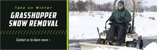 Grasshopper Snow Removal: Contact us to learn more.