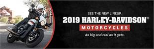 2019 Harley-Davidson® Motorcycles: Click here to view the models.