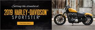 2019 Harley-Davidson® Sportster®: Click here to view the models.