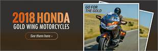 2018 Honda Gold Wing Motorcycles: Click here to view the models.