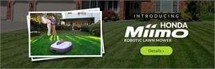 Introducing the Honda Miimo Robotic Lawn Mower: Click here to view the model.