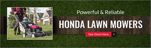 Honda Lawn Mowers: Click here to view the models.