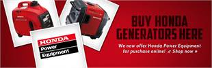 We now offer Honda Power Equipment for purchase online!
