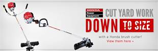 Click here to view Honda brush cutters.
